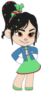 Vanellope in her Night Out Outfit 5