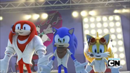 S1E39 Sonic Tails and Knuckles