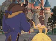 Belle and Beast Goes to Disneyland Paris Pictures 06