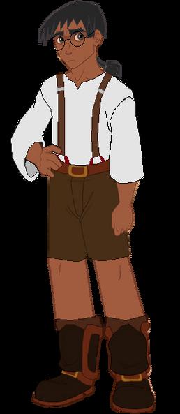 Prince Oliver dark skin