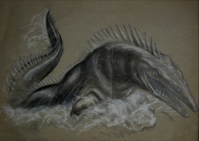 File:Mosasaur-sketch.png