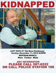 Bertram is missing