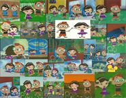 Little einsteins leo and june wallpaper by bigpurplemuppet99-d50ynet