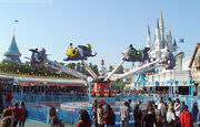 Dumbo The Flying Elephant (TDL)