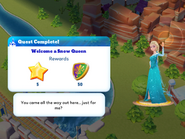 Q-welcome a snow queen