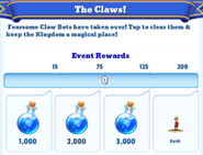 Me-the claws-2-milestones