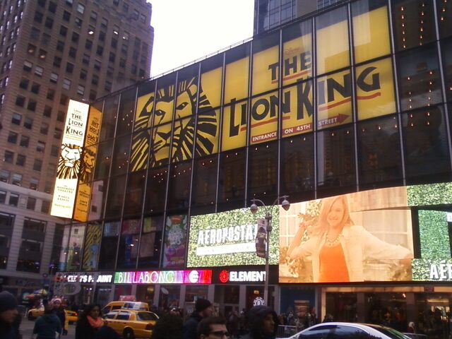 File:-The Lion King at the Minskoff theatre, Mar. 2013-.jpg