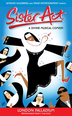 Sister Act the Musical folio
