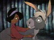 Judean with Arthur as a donkey