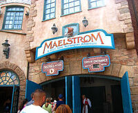 Maelstrom entrance sign