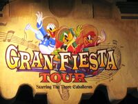 Gran Fiesta Tour Starring The Three Caballeros