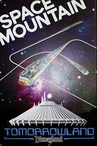 Space Mountain DL poster