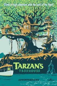 Tarzan's Treehouse DL poster