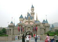 Sleeping Beauty Castle Hong Kong Disneyland