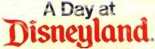 A Day at Disneyland Logo art box