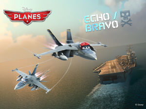 Disneys-Planes Wallpaper Bravo-Echo Standard