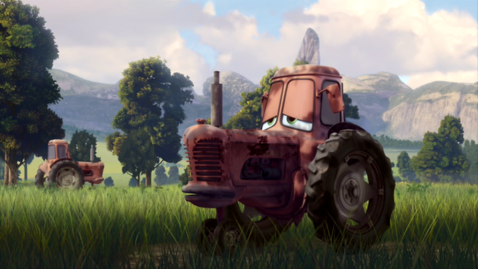 Tractor From Cars : Tractors planes wiki fandom powered by wikia