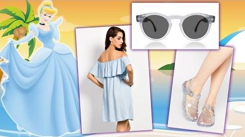 Disney Princess Beach Lookbook - Summer Beach Style Cinderella, Rapunzel, Ariel & More!