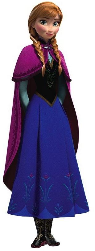 Disney anna cutout 2013