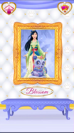 Blossom's Portrait with Mulan 2
