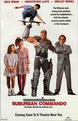 Suburban Commando poster