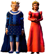 King Harold and Queen Lilian