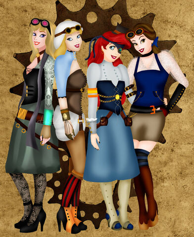 File:Steampunk briar cindy ariel belle by helleetitch-d4lccex.jpg