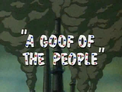 Goof of the People