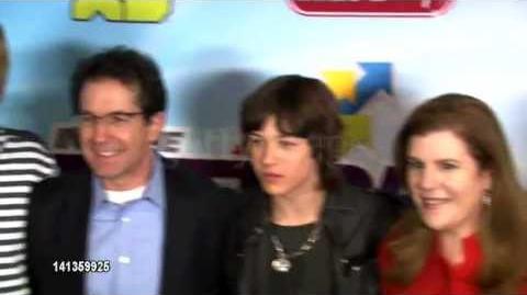 Leo Howard at Disney Channel's Worldwide Kids Upfront 2012-13