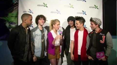 KARtv - Jingle Bell Rock BooBoo Stewart, Olivia Holt, Midnight Red, Ryan Ochoa, Aedin Mincks
