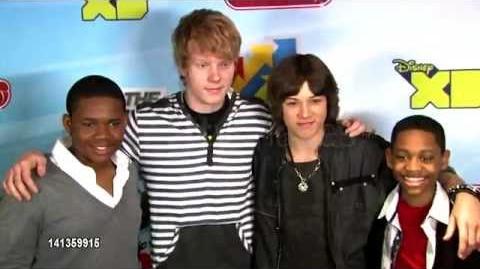 Leo Howard at Disney Channel's Worldwide Kids Upfront 2012-13 6