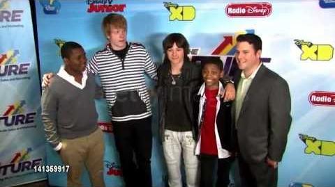 Leo Howard at Disney Channel's Worldwide Kids Upfront 2012-13 4