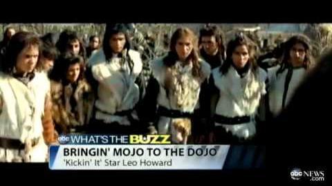 Leo Howard Gives Mojo to the Dojo in 'Kickin' It'