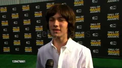 Leo Howard at Cartoon Network Hosts Second Annual Hall Of Game Awards INTERVIEW