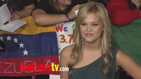 "Olivia Holt ""Breaking Dawn Part 1"" World Premiere"