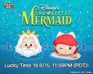 DisneyTsumTsum Lucky Time International LittleMermaid LineAd2 20160812