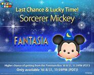 DisneyTsumTsum Lucky Time International SorcererMickey LineAd 20150828
