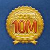 DisneyTsumTsum Pins International Score10Million