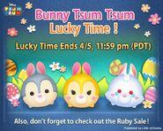 DisneyTsumTsum Lucky Time International Bunny LineAd 20150403