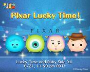 DisneyTsumTsum Lucky Time International Pixar LineAd 20150618