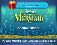 DisneyTsumTsum Lucky Time International LittleMermaid LineAd 20150429