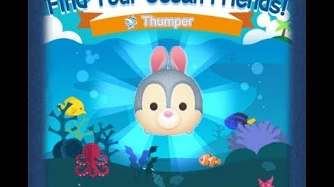 Disney Tsum Tsum - Thumper (Find Your Ocean Friends Event - Mission 58)