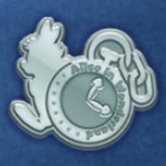 DisneyTsumTsum Pins AliceInWonderland Silver