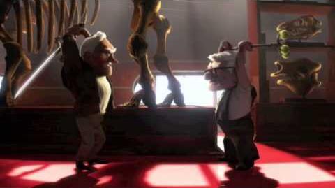 Pixar's Up - Old Man Fight