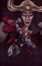 File:180px-Thor Loki by SpiderGuile by northchavis.jpg