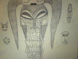 Facilier's voodoo masks