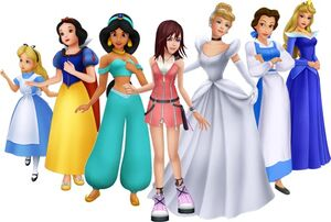 The 7 princesses