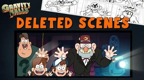 Gravity Falls DELETED Scenes & Storylines - Never Before Seen!