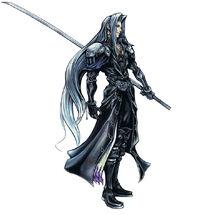 Sephiroth artwork