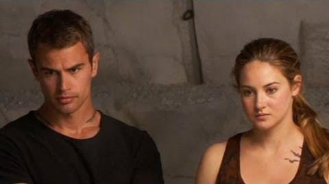 Shailene Woodley Theo James Has That 'Plain Old Testosterone Factor'